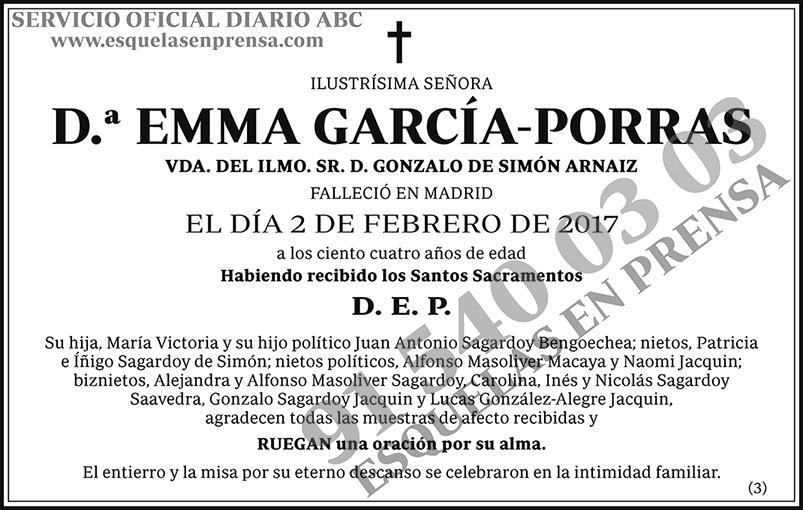 Emma García-Porras